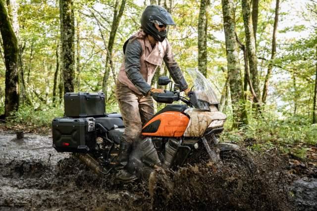 Harley-Davidson Pan America   Adaptive Ride Height explained