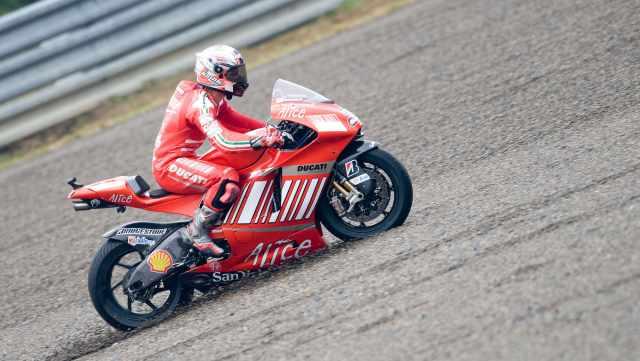 Marco Melandri - Ducati Corse 2008