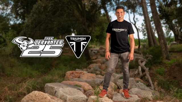 Ivan Cervantes - Triumph Motocross and Enduro programme