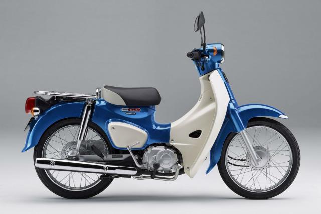 Updated Honda Super Cub launched