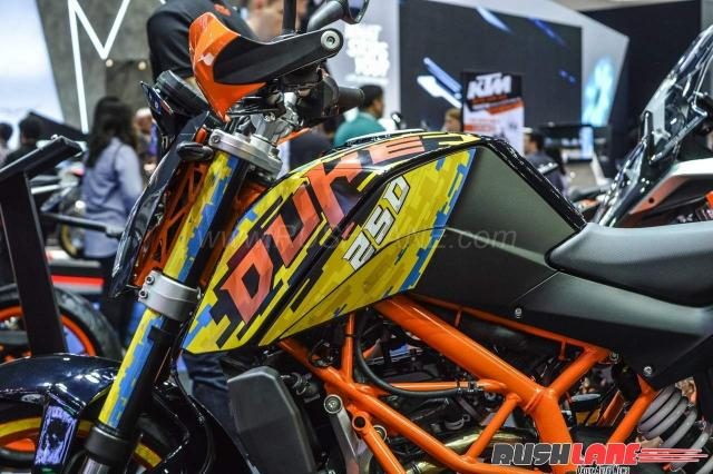 Thai KTM Duke 250 special edition