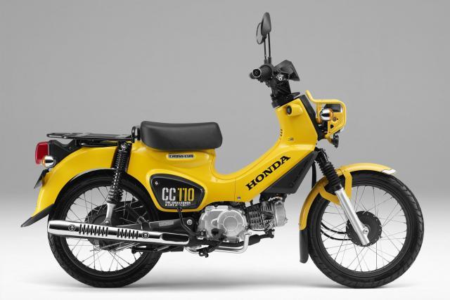 Honda Cross Cub 110 and Cross Cub 50 launched in Japan