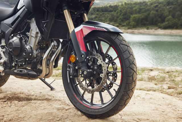 cb500x suspension brakes honda