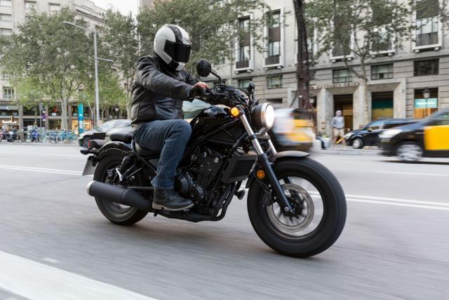 first ride honda cmx500 rebel review visordown. Black Bedroom Furniture Sets. Home Design Ideas