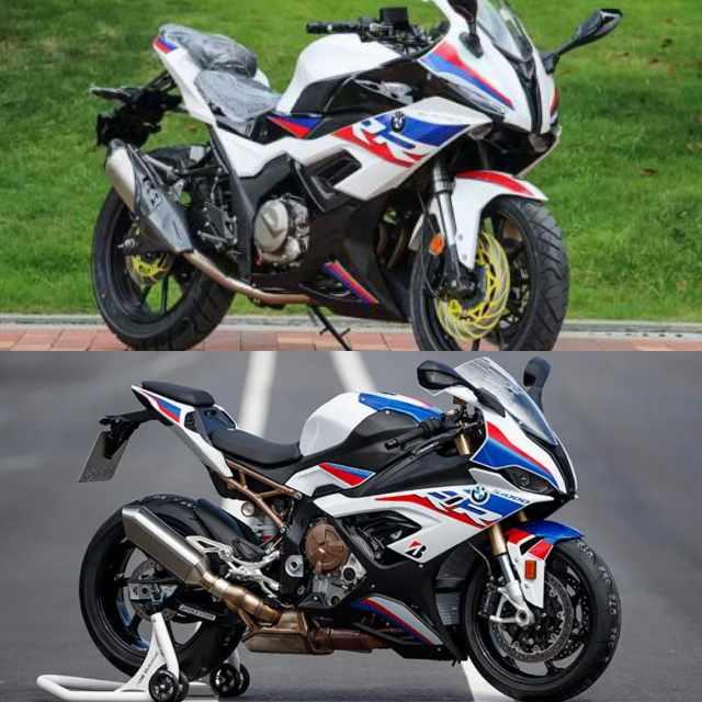Moto S450RR - BMW S1000RR