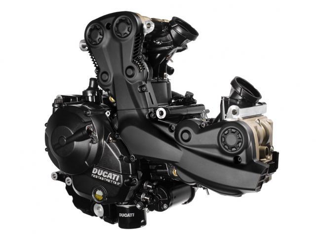 Ducati SuperSport engine