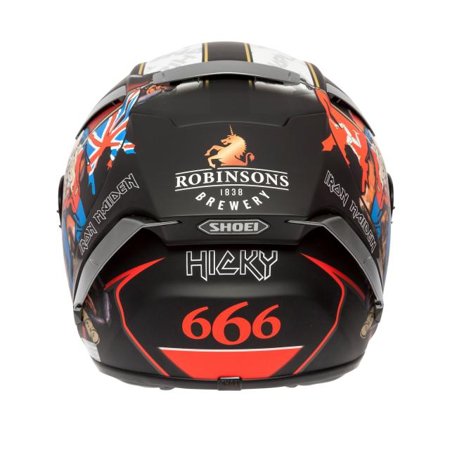 Hickman Trooper replica Shoei X-Spirit