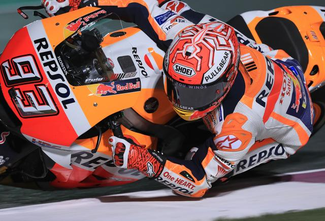 Get Marquez lean angle in your lounge
