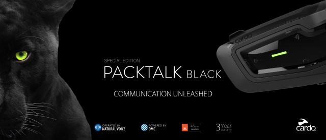 Cardo Packtalk Black graphic