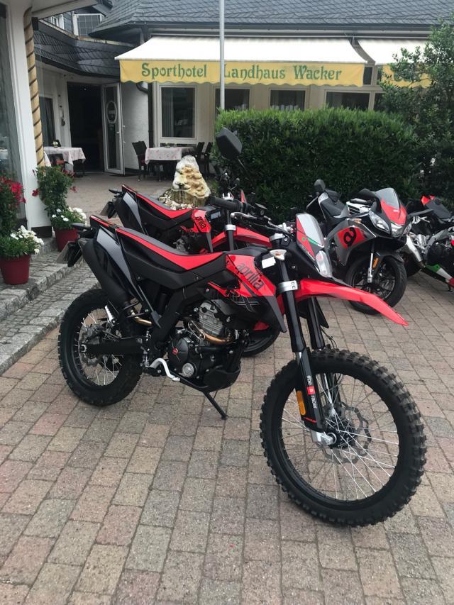 2018 Aprilia RX125 and SX125 launch