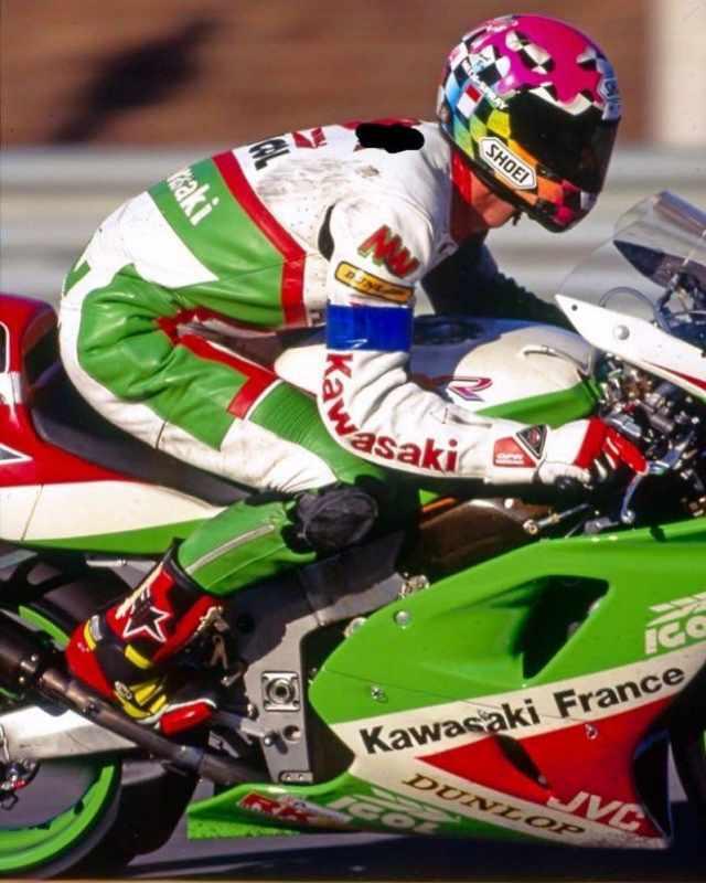Kawasaki ZXR750R world endurance