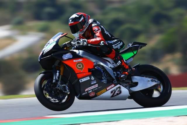 Christophe Ponsson - Nuova M2 Racing Aprilia WorldSBK