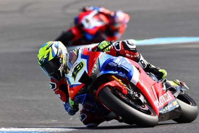 Alvaro Bautista - Honda Racing