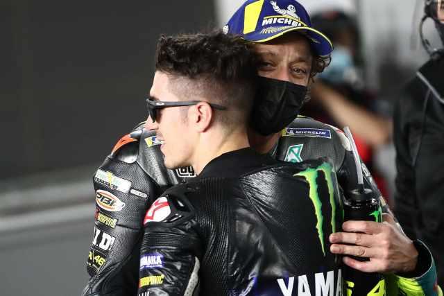 Maverick Vinales, Valentino Rossi - Yamaha