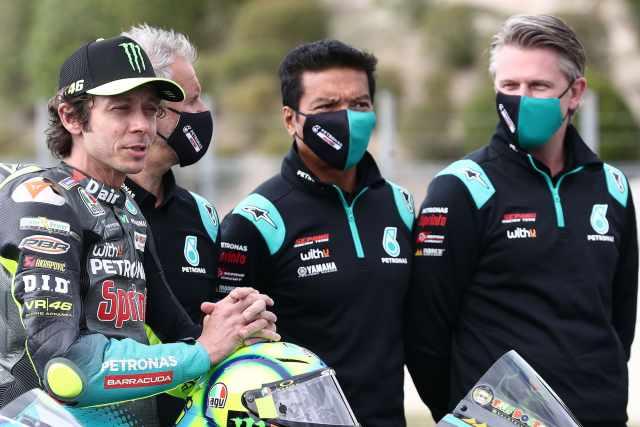 Razlan Razali, Valentino Rossi - Petronas SRT Yamaha