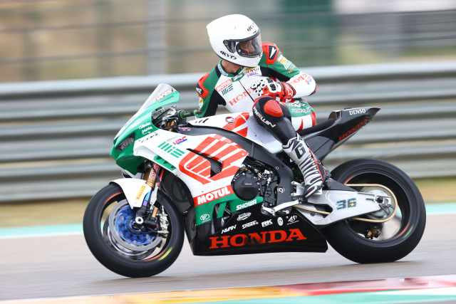 Leandro Mercado - MIE Racing Honda CBR1000RR-R WorldSBK 2021