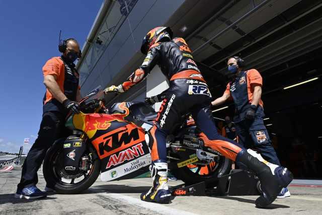 Raul Fernandez - Red Bull Ajo KTM