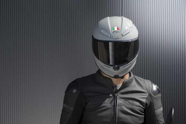 AGV K6 Nardo Grey Motorcycle Helmet