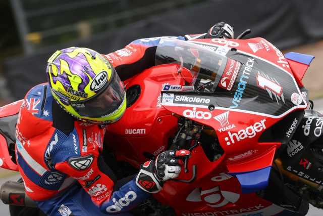 Christian Iddon - VisionTrack Ducati