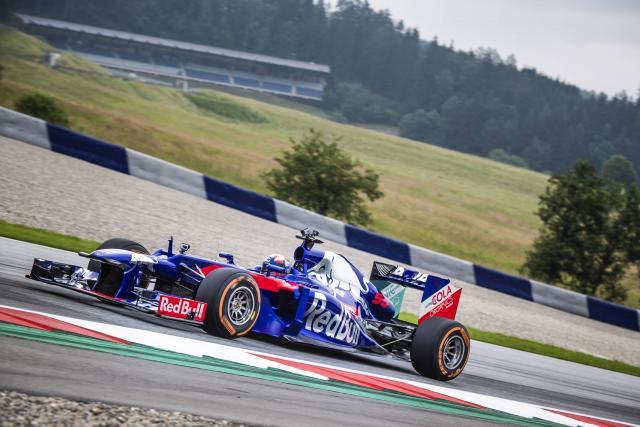 Marc Marquez - Toro Rosso Honda F1 test