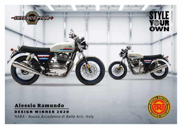 Alessio Royal Enfield Custom Design