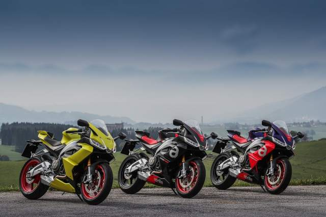 Aprilia RS660 colours for 2021