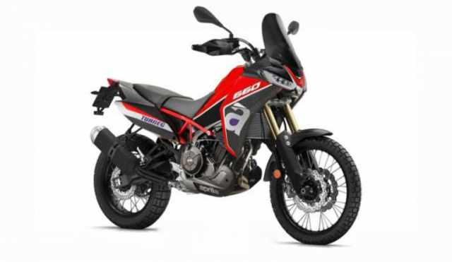 Aprilia Taureg 660 adventure motorcycle