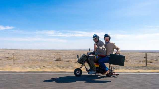 Aspen Dumb and Dumber motorcycle tour