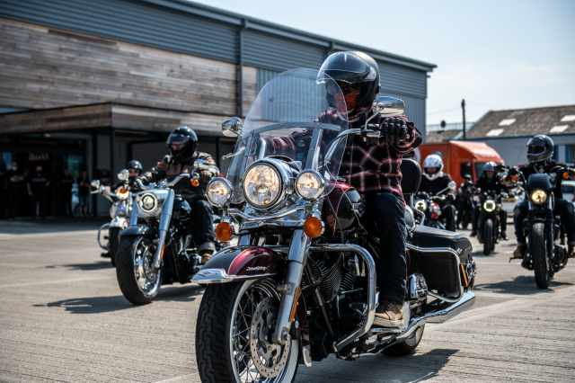 BarbersRide Harley Davidson Iain Crockart