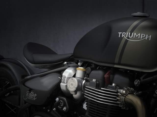 2021 Bonneville Bobber engine