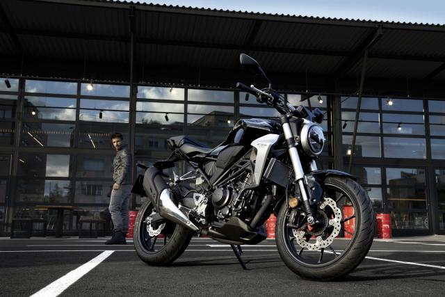Honda CB300R debuts