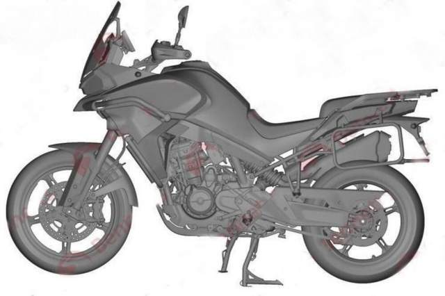 CFMoto 800MT styling patent