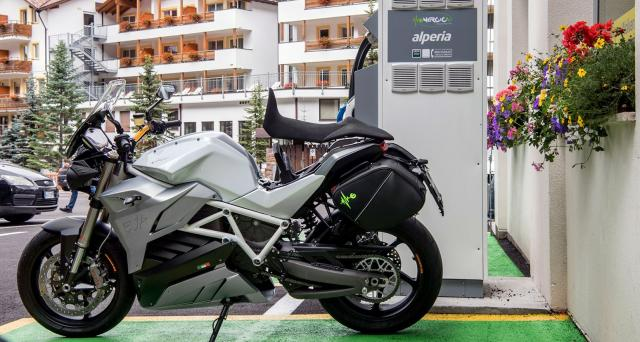 Motorcycle charging electric