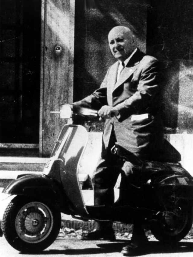 Corradino D'Ascanio King of modern scooter