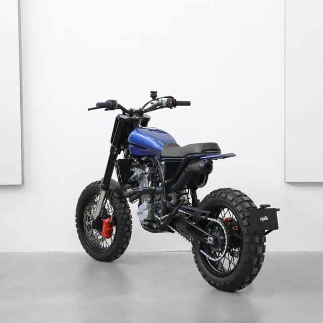 DAB Motors Blue LM-S Husqvarna