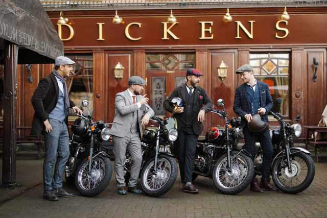 DGR Russia and Triumph Motorcycles