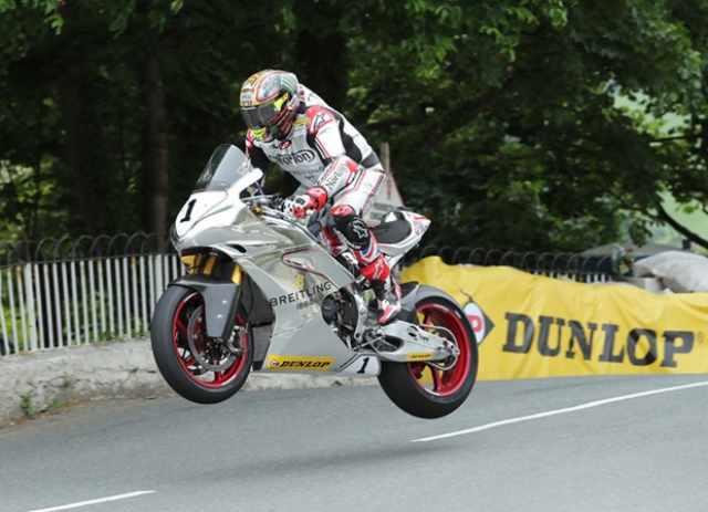 John McGuinness - Norton Isle of Man TT