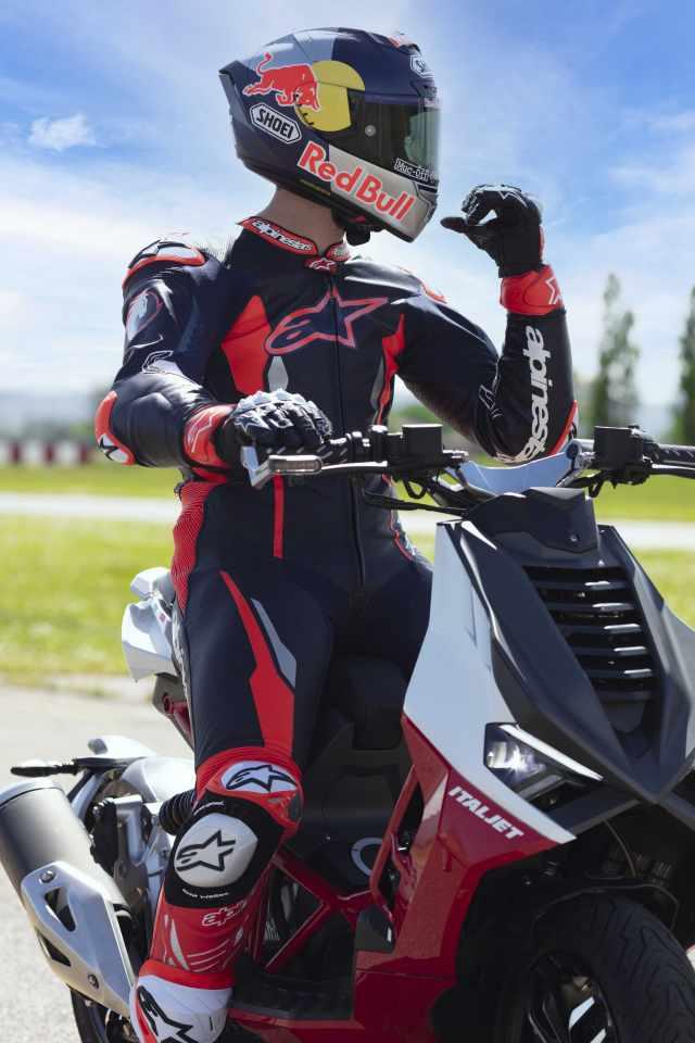 Andrea Dovizioso - Italjet Dragster