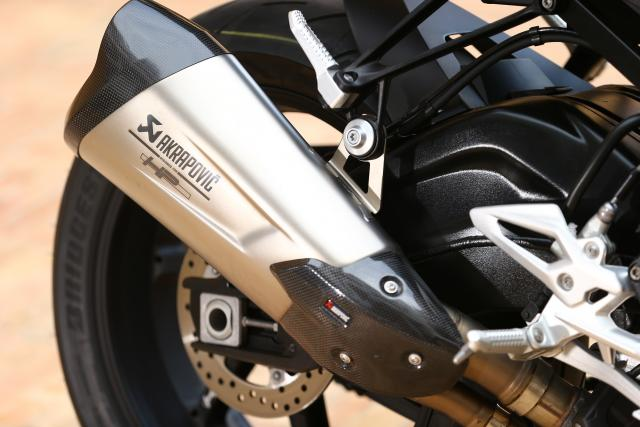 2017 BMW S1000R exhaust