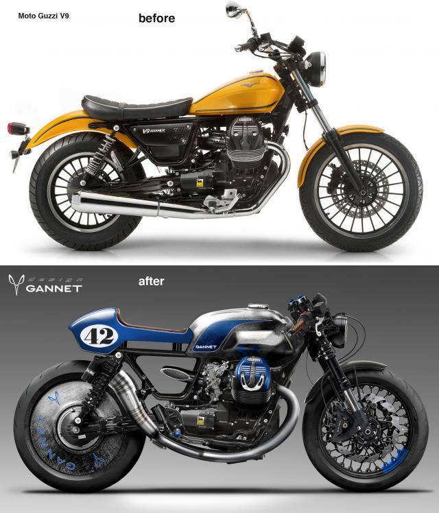 Gannet Design Moto Guzzi V9