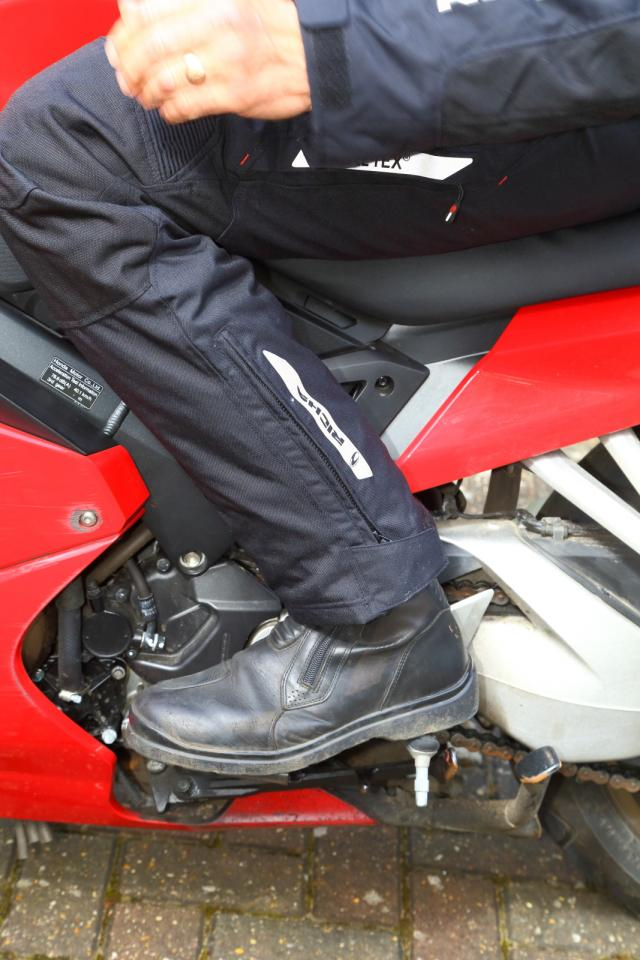 Richa Cyclone GTX suit tested