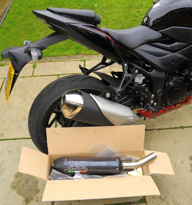 GPR end can for 2018 Suzuki GSX-S750 tested