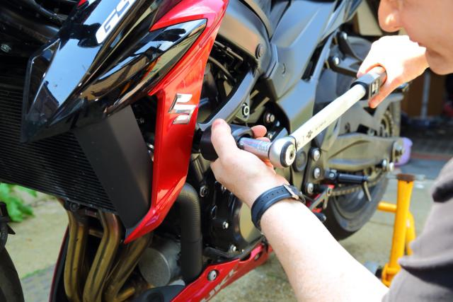 R&G protectors for GSX-S750