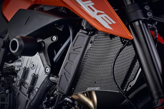Evotech KTM 790 Duke bolt-ons