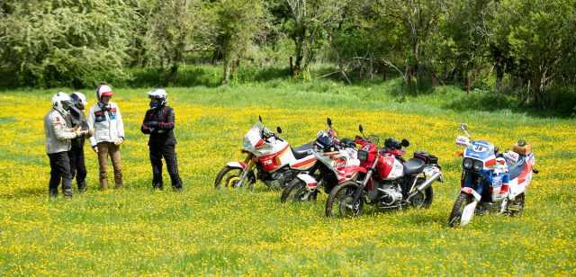 Dakar Enduro Rally group classic adventurers