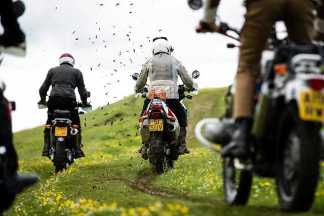 honda africa twin classic motorcycle