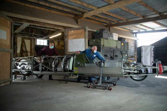 Land speed record 400mph streamliner