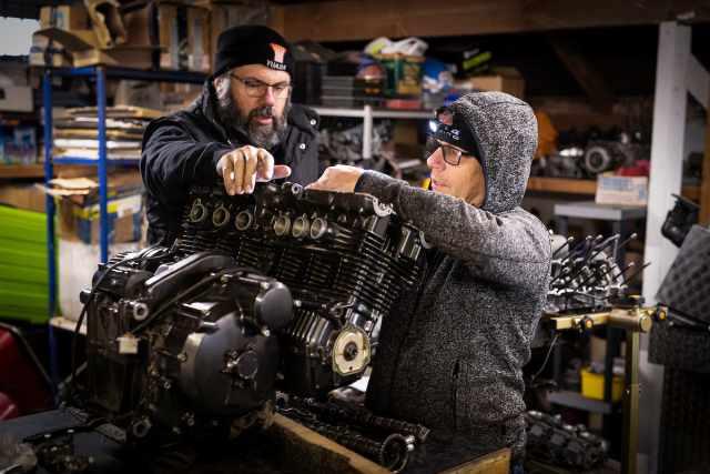 Sam's Dyno motorcycle engine repair