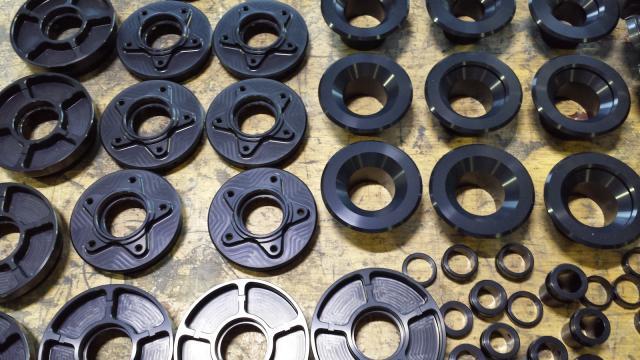 Rotobox carbon wheel hub components
