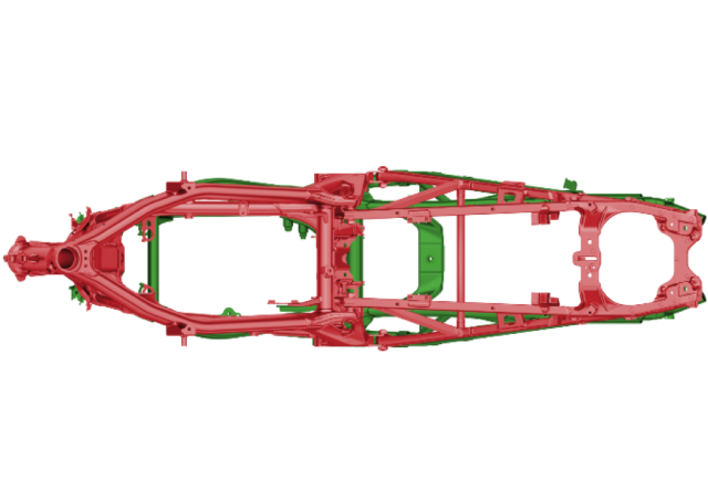 Honda CRF1100L Africa Twin Frame